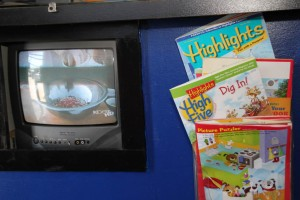 Kid Friendly Waiting Room in our Northridge auto repair shop