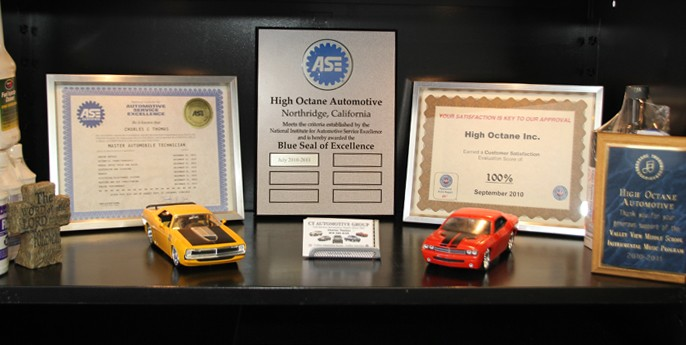ASE Blue Seal of Excellence Auto Repair Shop